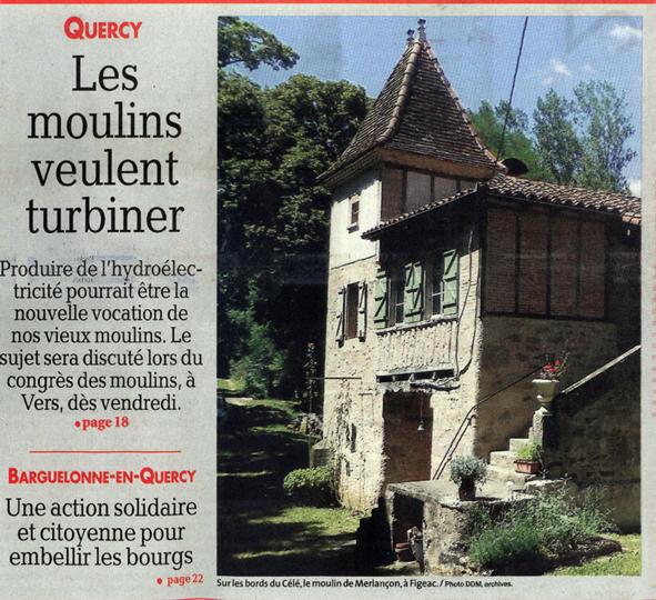 Quercy - les moulins veulent turbiner