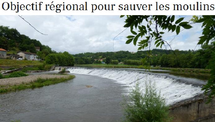 objectif régional pour sauver les moulins