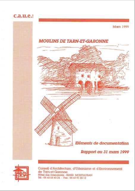 éléments de documentation moulins du Tarn-et-Garonne CAUE82